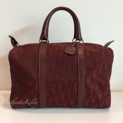 997f196820 CHRISTIAN DIOR Red Duffle Bag 1980 s