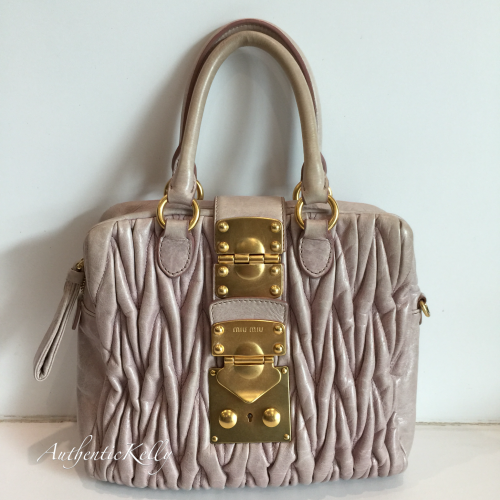 a19c16bf9e2e MIU MIU Light Pink Coffer Satchel Crossbody