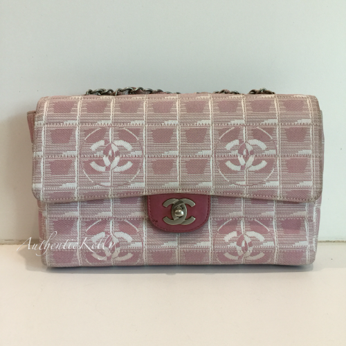 CHANEL New Travel Line Double Chain Flap 6123135df2f5d