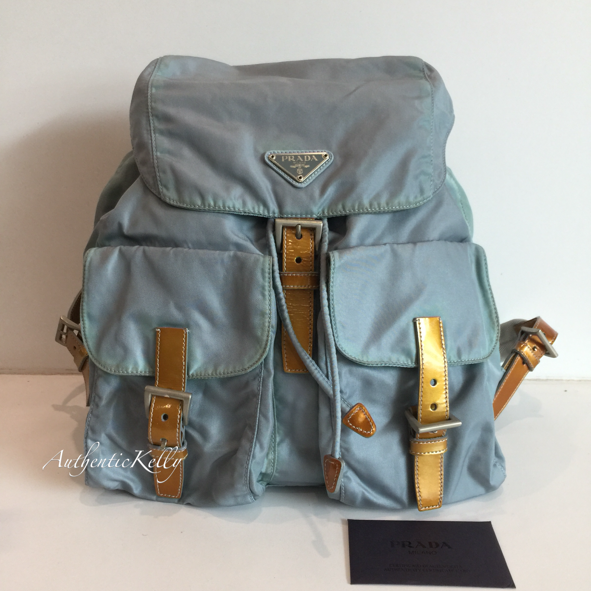 859c70d238b326 PRADA Backpack – AuthenticKelly