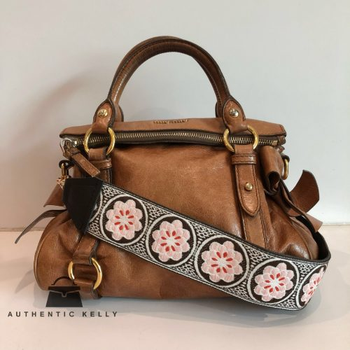 d7ea000164ca MIU MIU Brown Ribbon Vitello Lux Mini Bag
